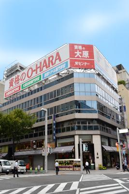 「栄」駅から徒歩5分 5.64坪のビルです