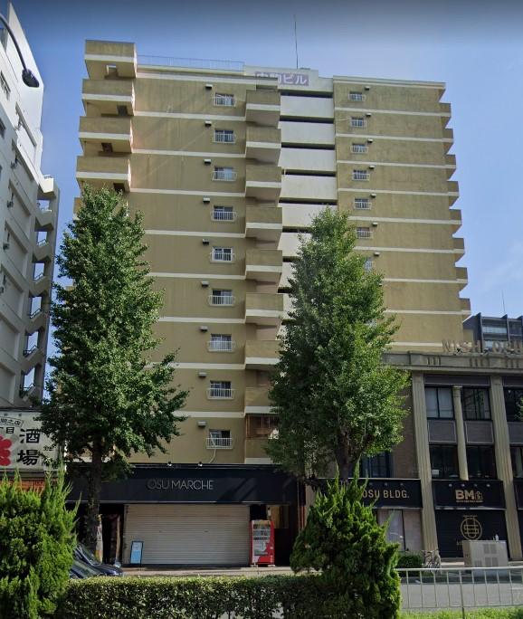 「大須観音」駅から徒歩3分 8.16坪のビルです