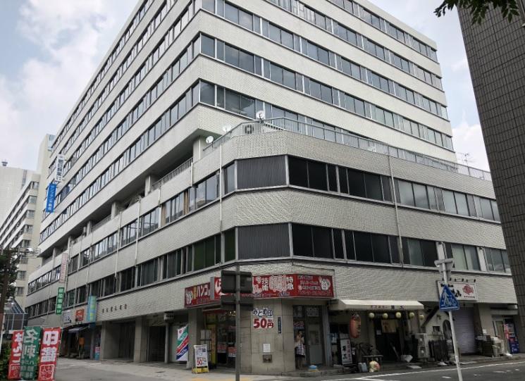 「国際センター」駅から徒歩4分 16.61坪のビルです