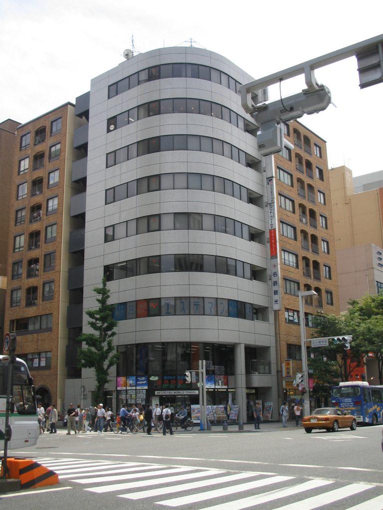 「栄」駅から徒歩5分 41.30坪のビルです