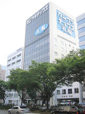 「上前津」駅から徒歩1分 12.46坪・9.44坪のビルです