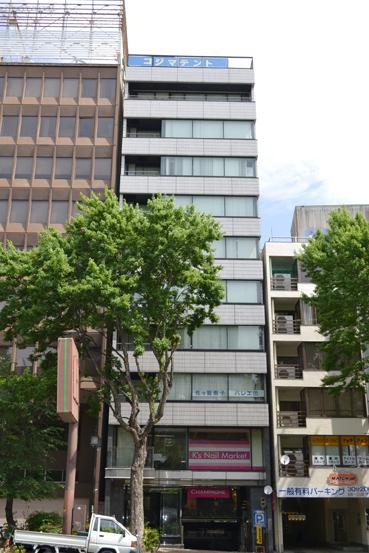 「矢場町」駅から徒歩1分 18.43坪のビルです